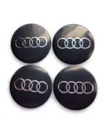 4pcs 56mm For AUDI Car Wheel Center Trims stickers Cap Badge Adhesive Auto Logo Emblem
