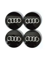 4pcs NEW 60mm AUDI Hub/WheelCenter Caps for A3 A4 A5 A6 A8 TT