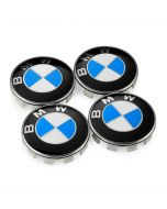 4PCS New style BMW Wheel Badges/Emblems/Logo 68mm Centre Hub Cap Badges