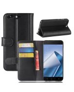 Asus 4 pro ZS551KL Phone Case Genuine leather Wallet Flip Cover Stand Display Card Pocket