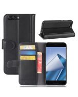 Asus 4 ZE554KL Phone Case Genuine leather Wallet Flip Cover Stand Display Card Pocket