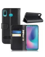 Genuine leather Samsung A9 2018 Phone Case Wallet Flip Cover Stand Display Card Pocket