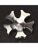 High Quality Stainless Steel Fidget Spinner Heavy Metal Brush Finish