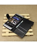 HTC One mini /HTC M4 Phone Case Wallet Flip Cover Leather Stand Display Card Pocket