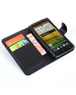 HTC One X Phone Case Wallet Flip Cover Leather Stand Display Card Pocket