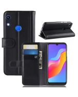 Huawei Honor 8A (Fingerprint) Phone Case Wallet Flip Cover Folio Genuine Leather Case Stand Display Card Pocket