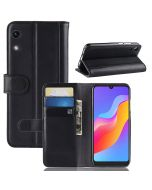 Huawei Honor Play 8A Phone Case Wallet Flip Cover Folio Genuine Leather Case Stand Display Card Pocket