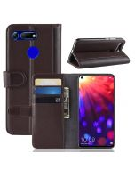 Huawei Honor V20 Phone Case Wallet Flip Cover Folio Genuine Leather Case Stand Display Card Pocket