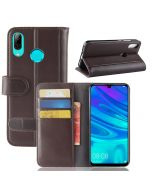 Huawei P30 lite Phone Case Wallet Flip Cover Folio Genuine Leather Case Stand Display Card Pocket