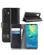 Huawei P30 Pro Phone Case Wallet Flip Cover Folio Genuine Leather Case Stand Display Card Pocket