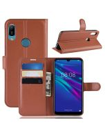 Huawei Y6 2019 Phone Case Wallet Flip Cover Folio Leather Case Stand Display Card Pocket