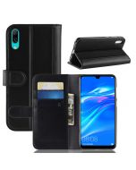 Huawei Y7 prime 2019 Y7 Pro Phone Case Wallet Flip Cover Folio Genuine Leather Case Stand Display Card Pocket