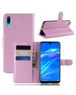 Huawei Y7 prime 2019 Y7 Pro Phone Case Wallet Flip Cover Folio Leather Case Stand Display Card Pocket