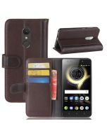 Lenovo K8 Phone Case Genuine leather Wallet Flip Cover Stand Display Card Pocket