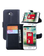 LG L70 D320N Single SIM Phone Case Wallet Flip Cover Leather Stand Display Card Pocket