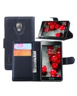 LG L7 Ii P715 Phone Case Wallet Flip Cover Leather Stand Display Card Pocket