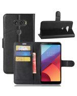 LG V30 Phone Case Wallet Flip Cover Leather Stand Display Card Pocket