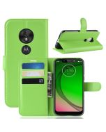 MOTO G7 Play (EU) Phone Case Wallet Flip Cover Folio Leather Case Stand Display Card Pocket
