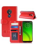 MOTO G7 Power(EU) Flip Folio Leather Wallet Case with ID and Credit Card Pockets