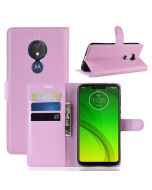MOTO G7 Power (EU) Phone Case Wallet Flip Cover Folio Leather Case Stand Display Card Pocket