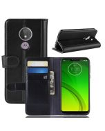 MOTO G7 Power (US) Phone Case Wallet Flip Cover Folio Genuine Leather Case Stand Display Card Pocket