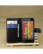 Moto G/Moto G XT1032 Phone Case Wallet Flip Cover Leather Stand Display Card Pocket