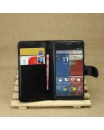 Moto X(2013) Phone Case Wallet Flip Cover Leather Stand Display Card Pocket