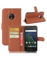 Motorola Moto G5 Wallet Flip Cover Leather Phone Case Kickstand Card Pocket