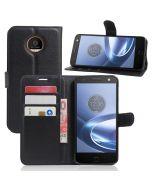 Motorola Moto G5 Plus Wallet Flip Cover Leather Phone Case Kickstand Card Pocket