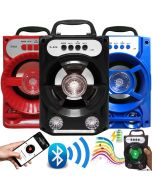 Outdoor Super Bass Stereo Wireless Bluetooth Speaker w/ USB/TF/FM Radio