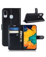 Samsung A30 /Samsung A20 Phone Case Wallet Flip Cover Folio Leather Case Stand Display Card Pocket