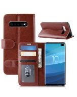 Samsung S10 5G Flip Folio Leather Wallet Case with ID and Credit Card Pockets