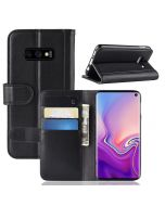 Samsung S10 lite Phone Case Wallet Flip Cover Folio Genuine Leather Case Stand Display Card Pocket