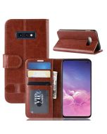 Samsung S10e Flip Folio Leather Wallet Case with ID and Credit Card Pockets