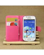 Samsung S7262 Galaxy Star Pro Phone Case Wallet Flip Cover Leather Stand Display Card Pocket