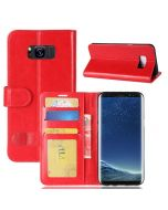 Samsung S8 Flip Folio Leather Wallet Case with ID and Credit Card Pockets