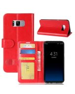 Samsung S8 Plus Flip Folio Leather Wallet Case with ID and Credit Card Pockets