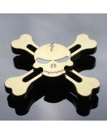 Skull and crossbones Fidget Spinner Aluminum Alloy cool Hand Spinner