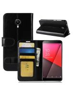 Vodafone smart N9 Lite Flip Folio Leather Wallet Case with ID and Credit Card Pockets