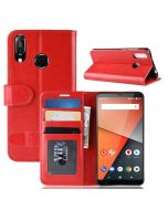 Vodafone Smart X9 Flip Folio Leather Wallet Case with ID and Credit Card Pockets