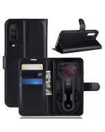 Xiaomi 9 /Xiaomi 9 Explorer Phone Case Wallet Flip Cover Folio Leather Case Stand Display Card Pocket