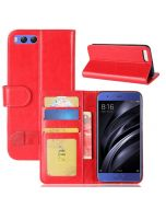 Xiaomi MI 6 Flip Folio Leather Wallet Case with ID and Credit Card Pockets