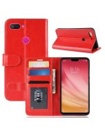 Xiaomi Mi 8 Lite Flip Folio Leather Wallet Case with ID and Credit Card Pockets