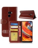 Xiaomi Mi MIX 2 Flip Folio Leather Wallet Case with ID and Credit Card Pockets