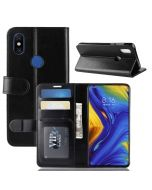 Xiaomi Mi MIX 3 Flip Folio Leather Wallet Case with ID and Credit Card Pockets