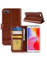 Xiaomi Redmi 6A Flip Folio Leather Wallet Case with ID and Credit Card Pockets