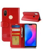 Xiaomi Redmi Note 6 Pro Flip Folio Leather Wallet Case with ID and Credit Card Pockets