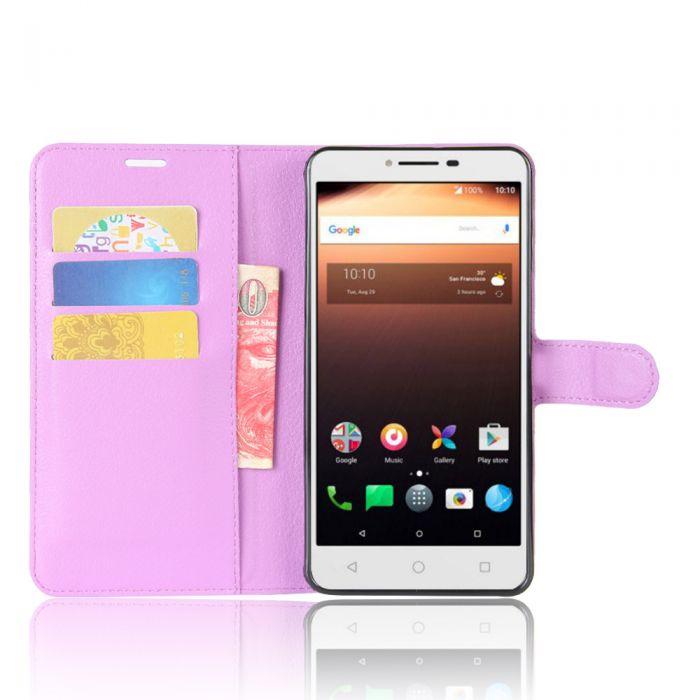 the latest ebc0e 0601e Alcatel A3 XL Phone Case Wallet Flip Cover Folio Leather Case Stand Display  Card Pocket