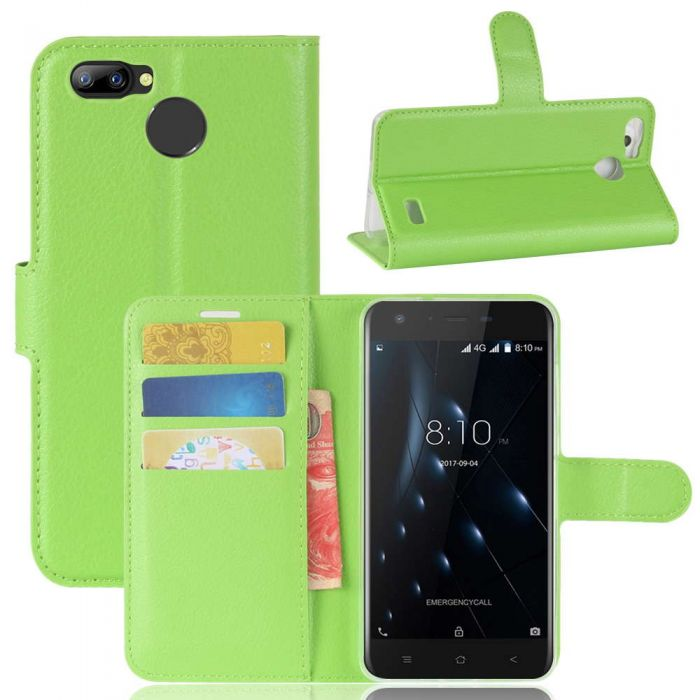 half off f9c53 a79e7 Blackview A7 Pro Phone Case Wallet Flip Cover Folio Leather Case Stand  Display Card Pocket
