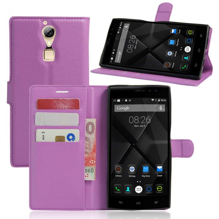 innovative design 199b3 3527e Doogee F5 Phone Case Wallet Flip Cover Folio Leather Case Stand ...